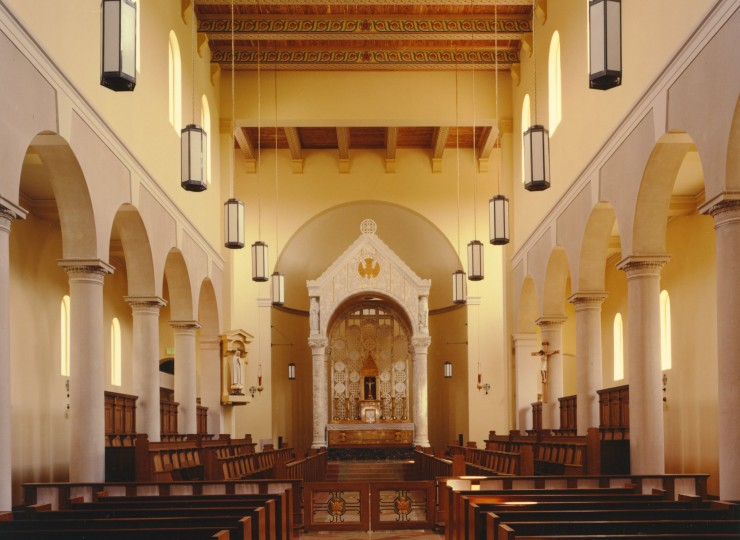3- OLGS Chapel Toward Sanctuary